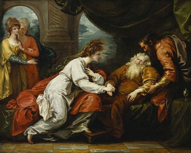 King Lear en Cordelia