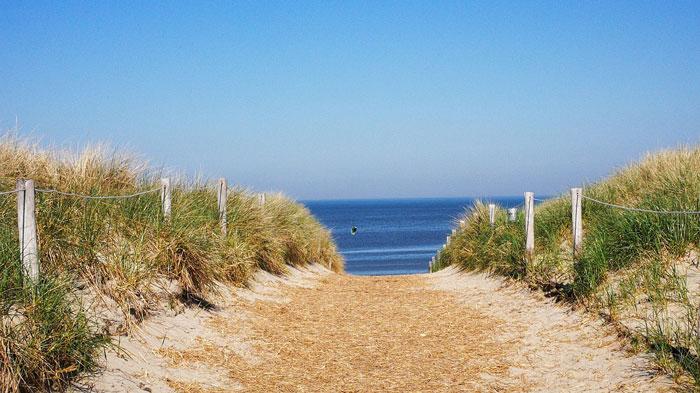 strandfoto waddeneiland